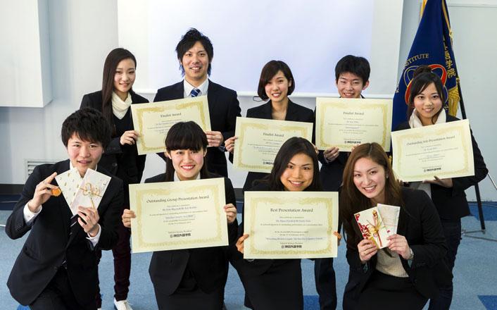 2014年度学内プレゼンテーションコンテストが行われました