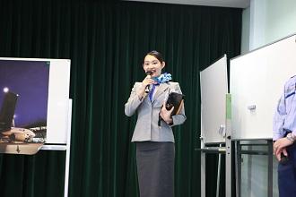 ANA成田エアポートサービス様による航空業界セミナーを開催しました