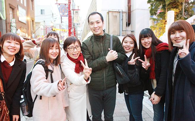 【アジア/ヨーロッパ言語科 中国語コース】横浜中華街へのフィールドトリップ