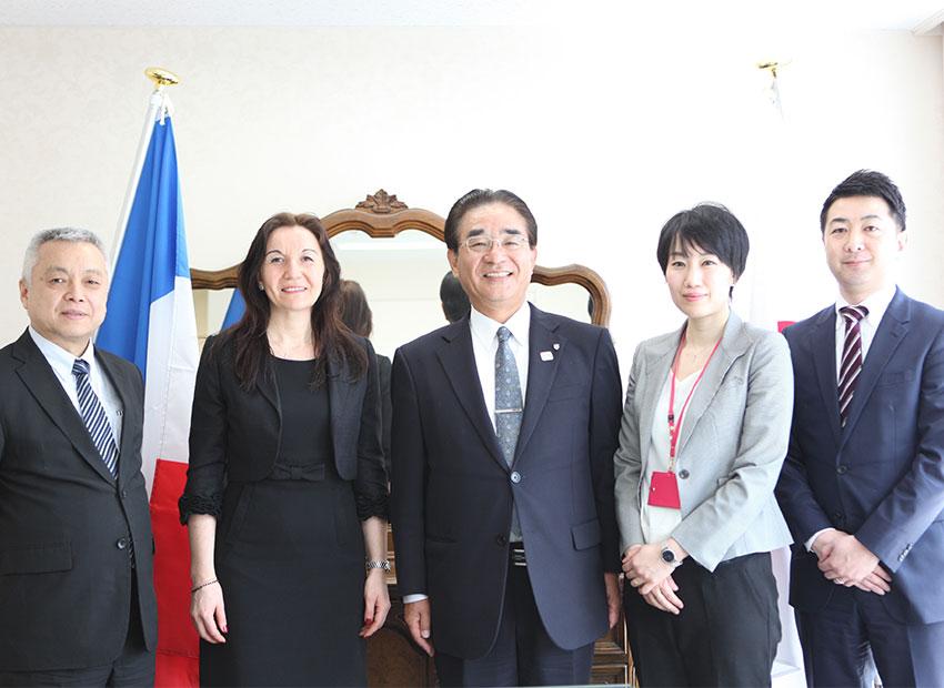 フランス・EMBA-ISUGAと連携教育プログラムの提携を結びました