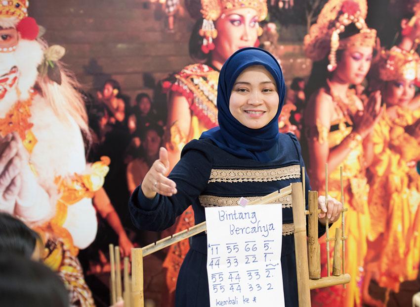 アジア/ヨーロッパ言語科インドネシア語コース