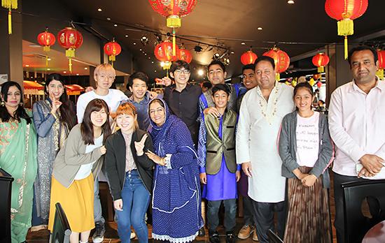 姉妹校・神田外語大学で「イード」を体験しました