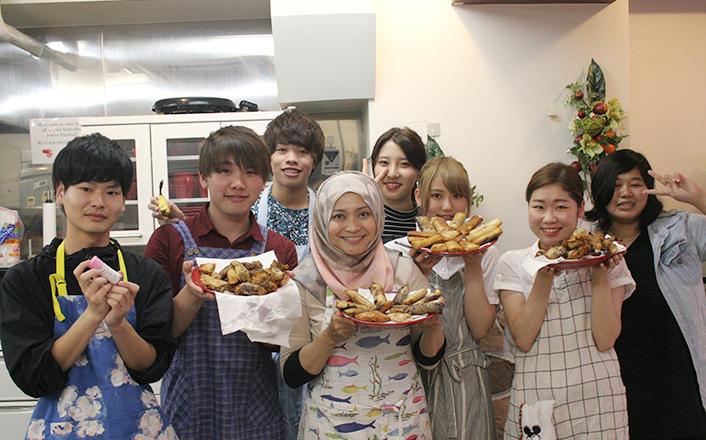 インドネシアのお菓子作りに挑戦!