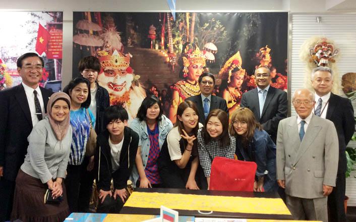 ブディルフール大学(インドネシア)の理事長ご一行様が来校されました