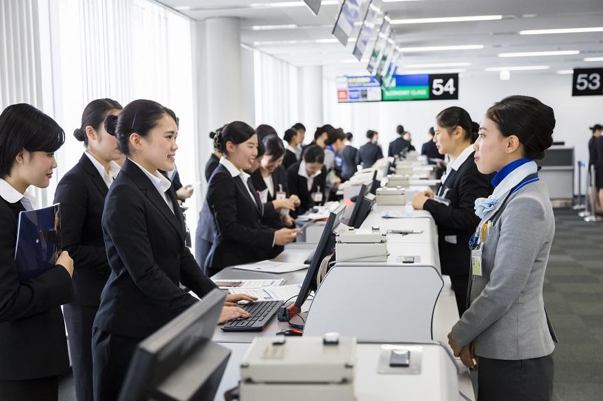 ANA成田エアポートサービス様の空港見学会に参加しました