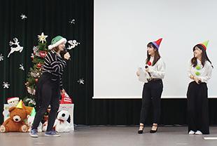 児童英語教育科主催 クリスマスパーティー開催!