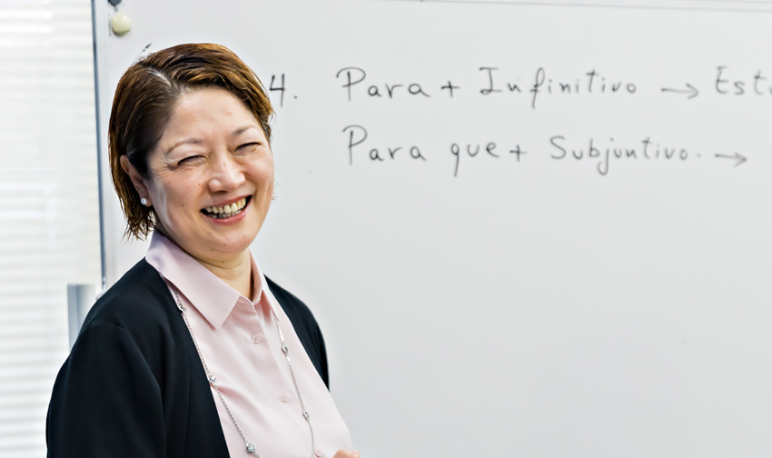アジア/ヨーロッパ言語科スペイン語語コース