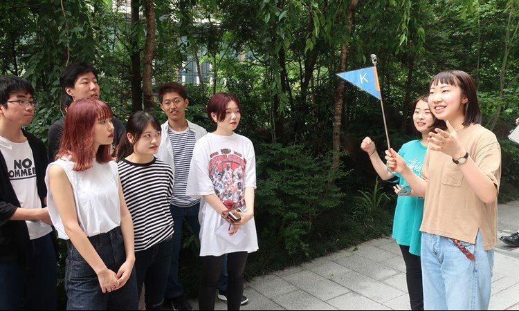 国際観光科2年生が通訳ガイド実習を体験