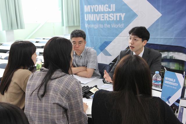 韓国5大学合同説明会を開催
