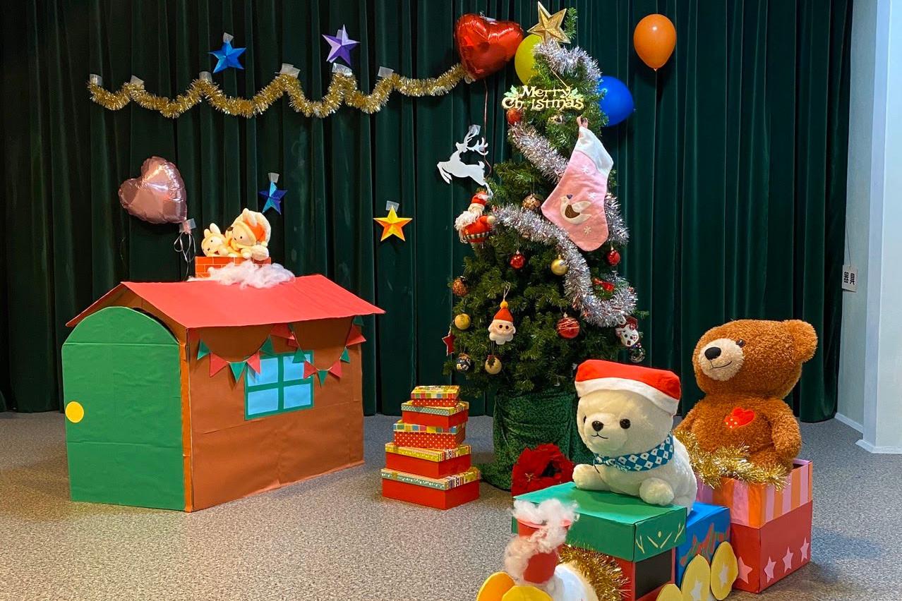 児童英語教育科2年生主催「クリスマスパーティー」開催!