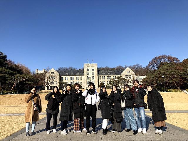 韓国冬季短期研修