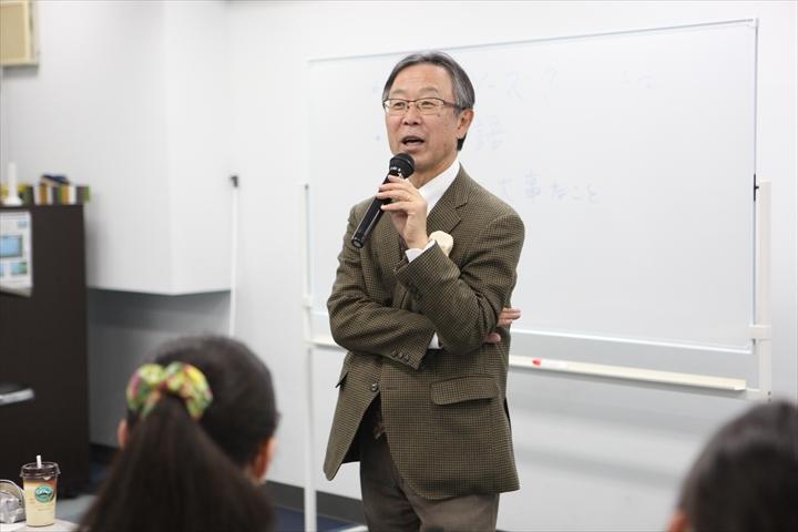 特別講演会「国際社会へ出て行こう」講演者:吉川元偉 元国連大使