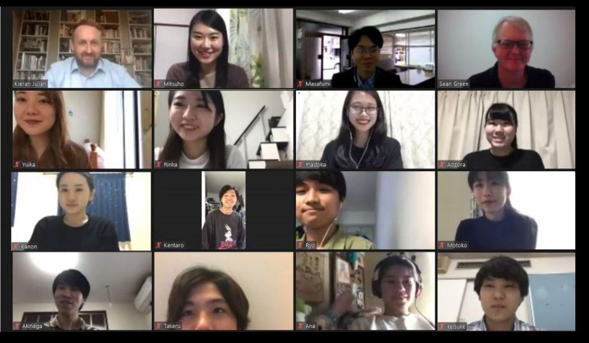 【英語専攻科・2年生】オンライン・プレゼンテーションコンテストが開催されました