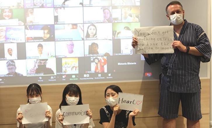インドネシア・ブディルフール大学とのオンライン国際交流プログラム-Final Presentation-が実施されました