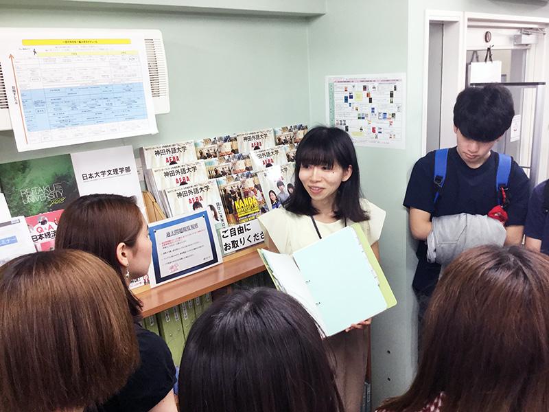 編入学試験対策を知り尽くしたスタッフがあなたの編入をばっちりサポート