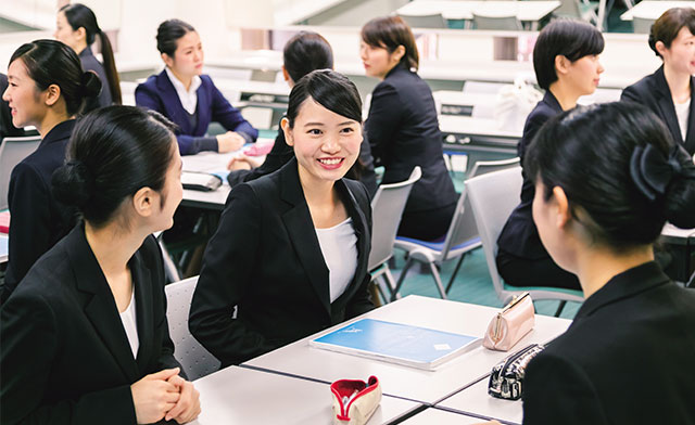 神田外語学院 キャビンアテンダントコース