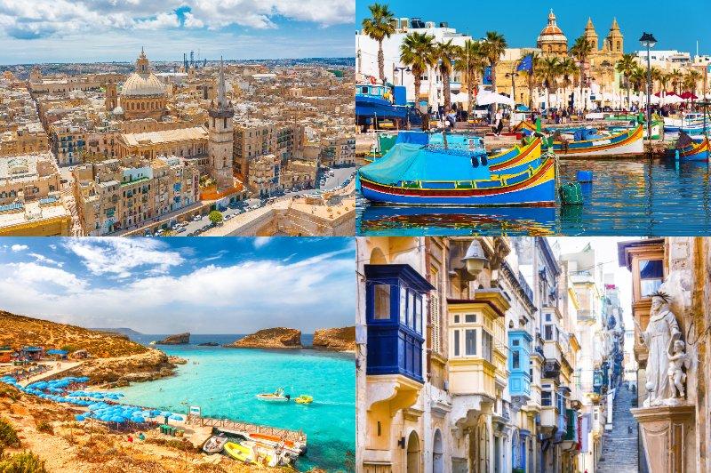 .首都がまるごと世界遺産の地中海にある温暖な島国「マルタ」