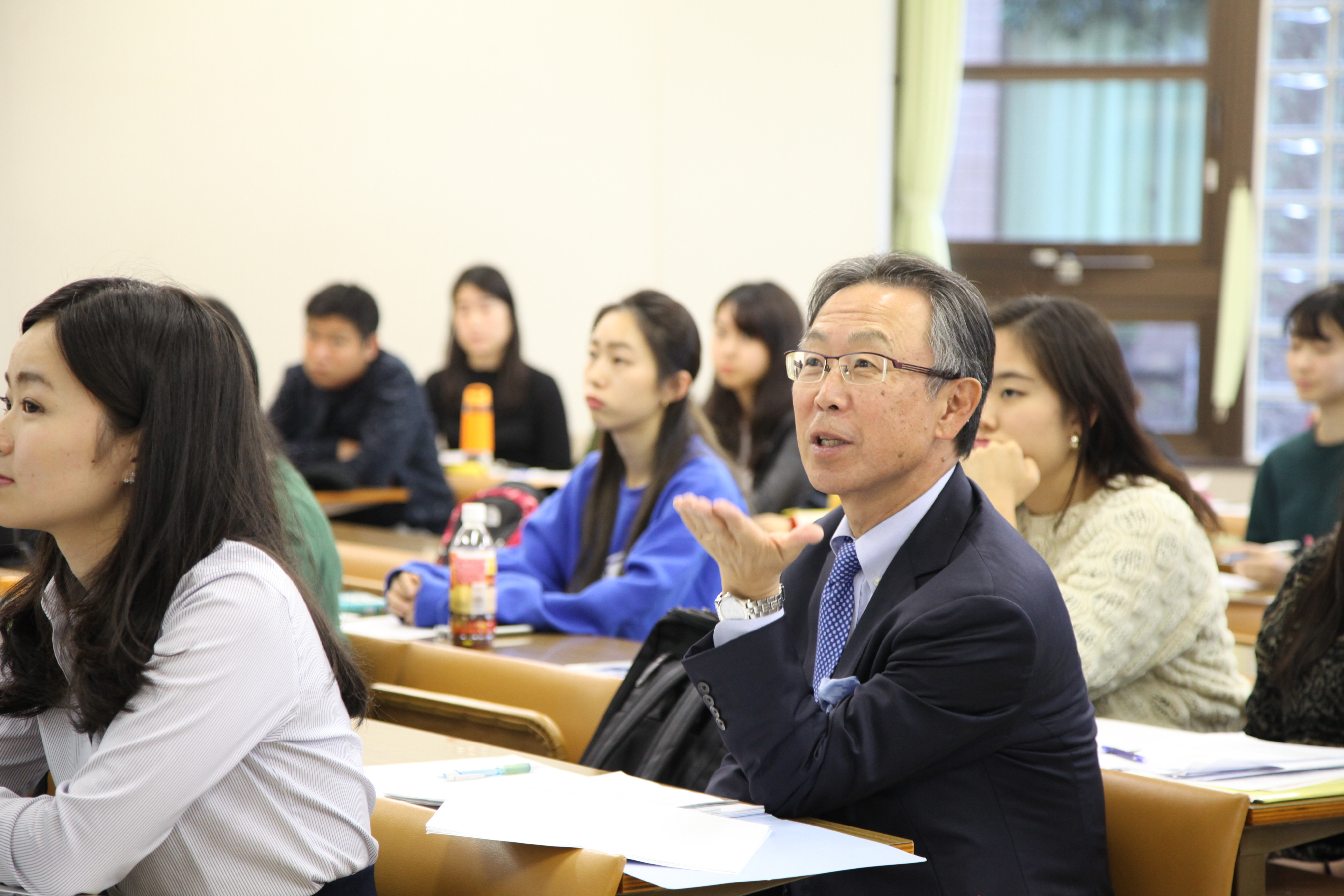 第9回グローバル・スタディーズにて吉川前国連大使による特別講義「国連総会を振り返って」が開催されました